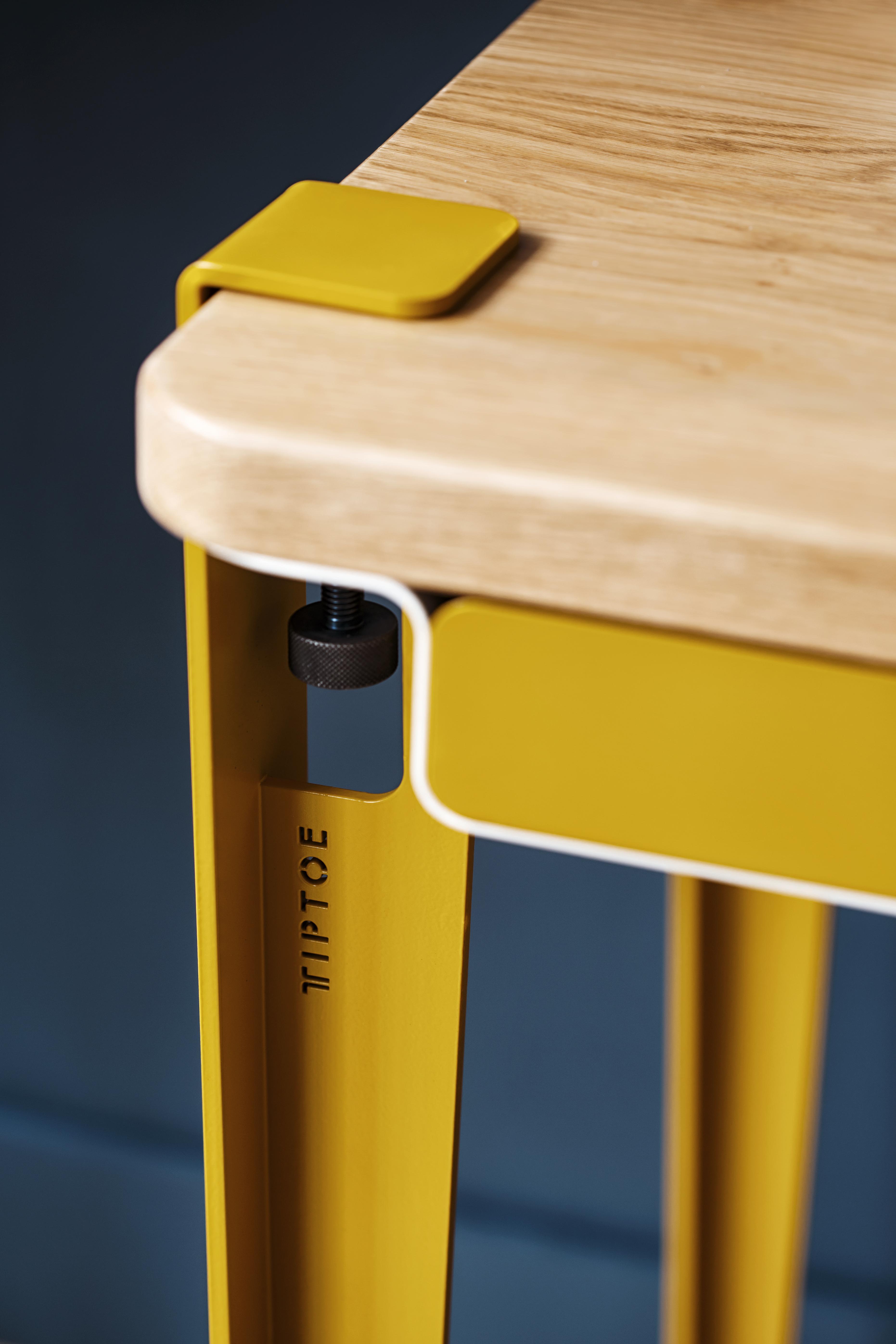 Pied de table modulable pour table et bureau 75cm serre joint tiptoe - Pied pour bureau plateau ...
