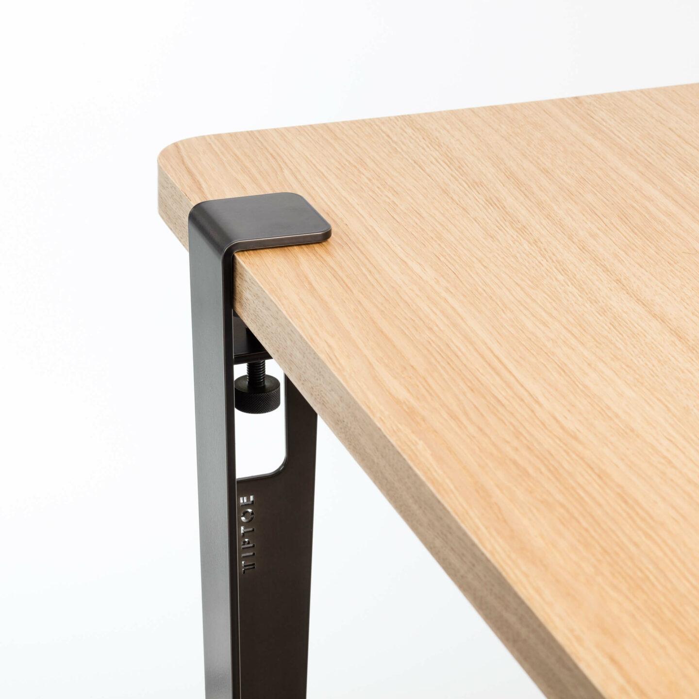 pied de table modulable pour table et bureau 75cm. Black Bedroom Furniture Sets. Home Design Ideas