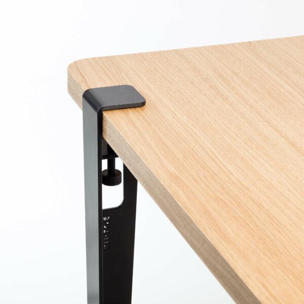 Pied De Table Modulable Pour Table Et Bureau 75cm Serre Joint