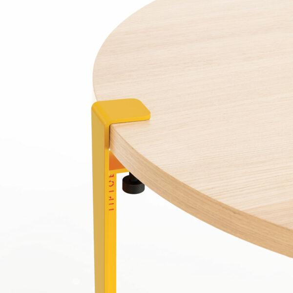 PEBBLE coffee table – eco-certified wood