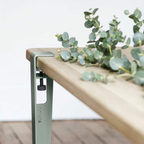 Table Leg Create A Unique And Durable Piece Of Furniture Tiptoe - How To Attach Metal Legs Wood Table
