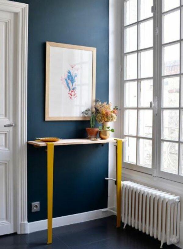 Pied de table 75 cm et accroche murale BRACKET