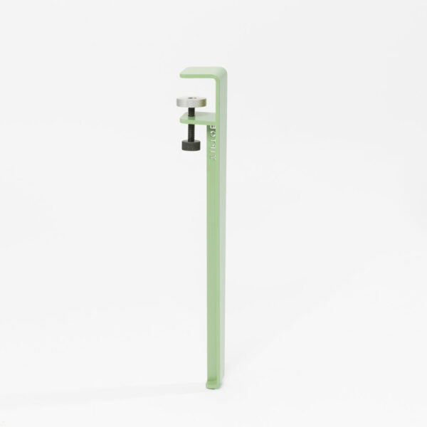 Pied de table basse vert olivier - 43 cm