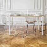 Pied de table et bureau – 75cm