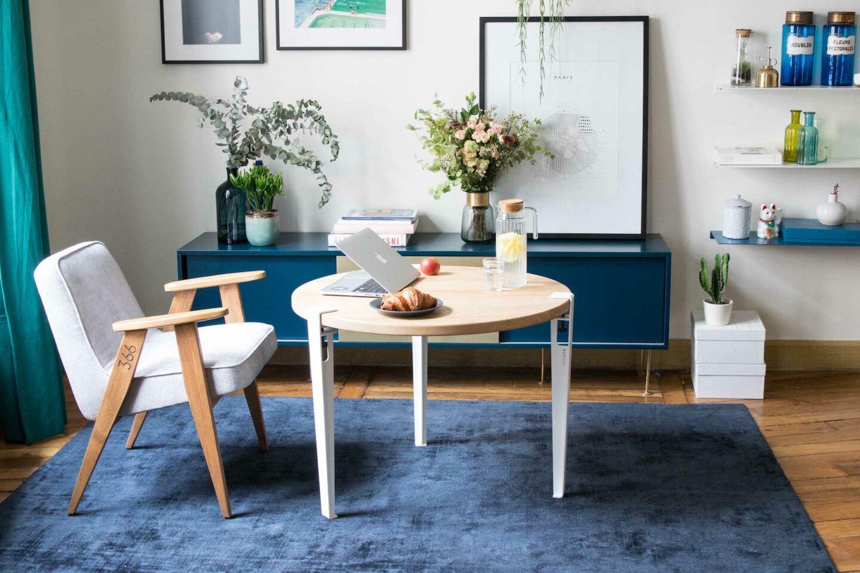 table mi haute edition limit e tiptoe x marie claire maison. Black Bedroom Furniture Sets. Home Design Ideas
