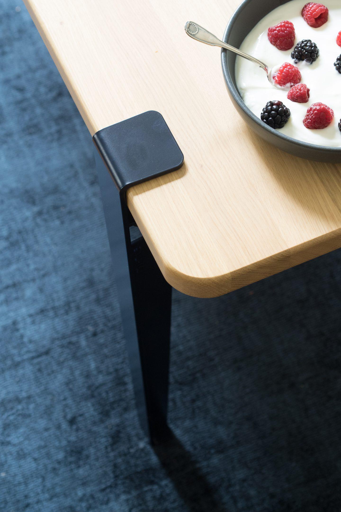 table mi haute 120x60cm tiptoe. Black Bedroom Furniture Sets. Home Design Ideas