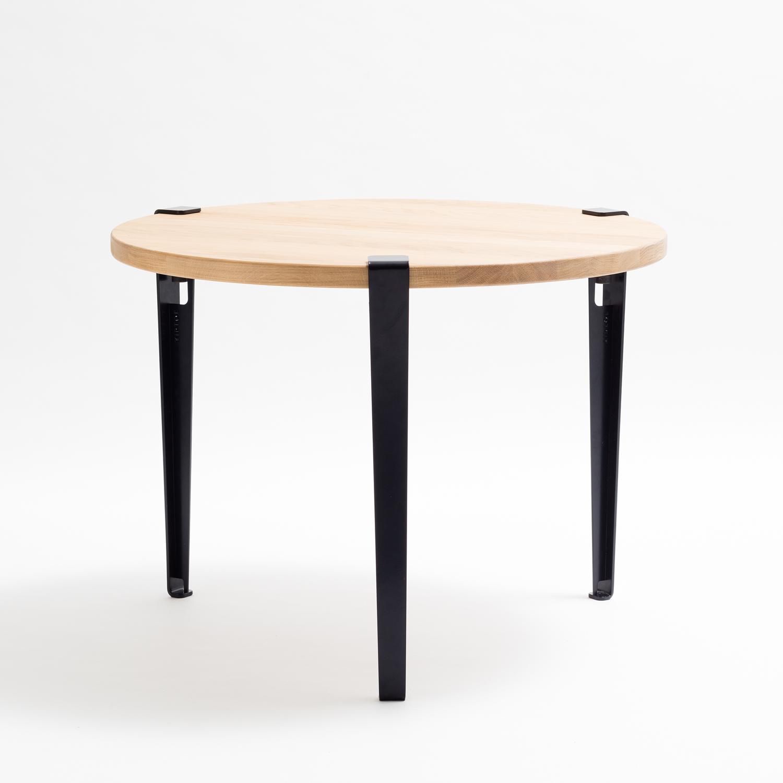 var1_D80-ink-black-NOIR-ENCRE Unique De Table Ronde Cdiscount Conception
