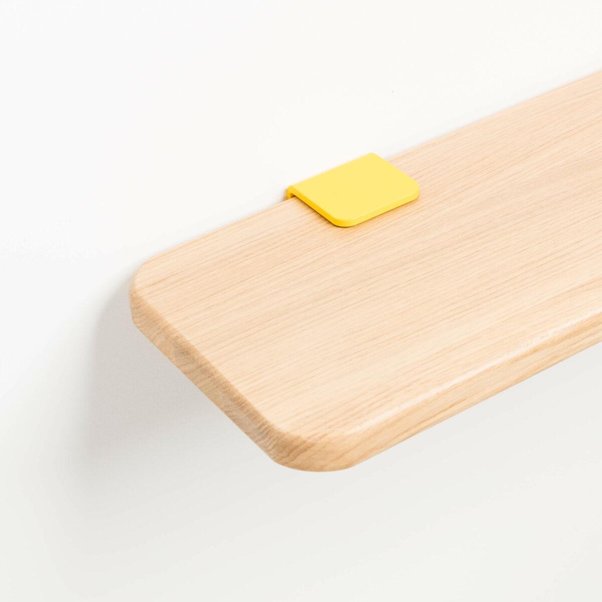 wall bracket create unique and creative tiptoe shelves. Black Bedroom Furniture Sets. Home Design Ideas