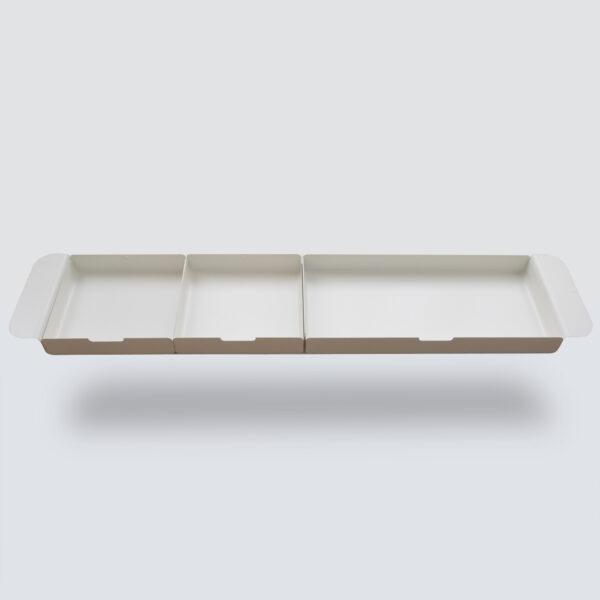 Module de rangement wave tiroir blanc