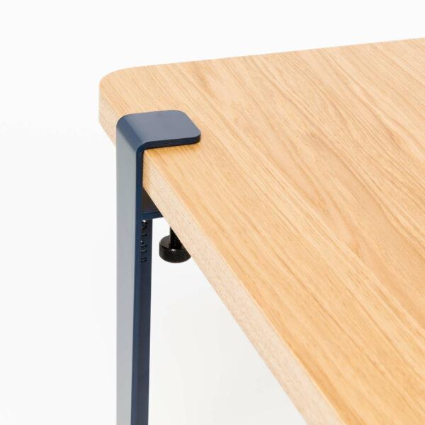 Pied table basse banc TIPTOE acier thermolaque vert