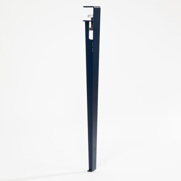 Pied pour table et bureau modulable acier bleu TIPTOE