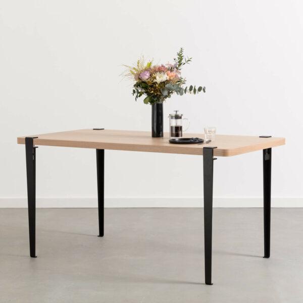 Table à manger BALTHAZAR – bois éco-certifié
