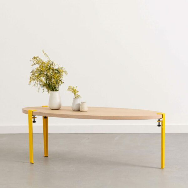 SURF coffee table - eco-certified wood