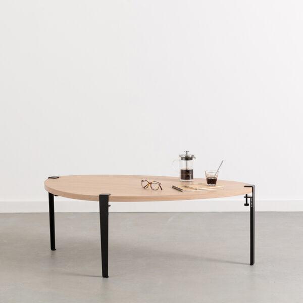 Table basse GALET - bois éco-certifié