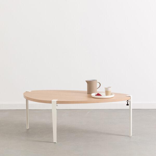 Table basse GALET – bois éco-certifié
