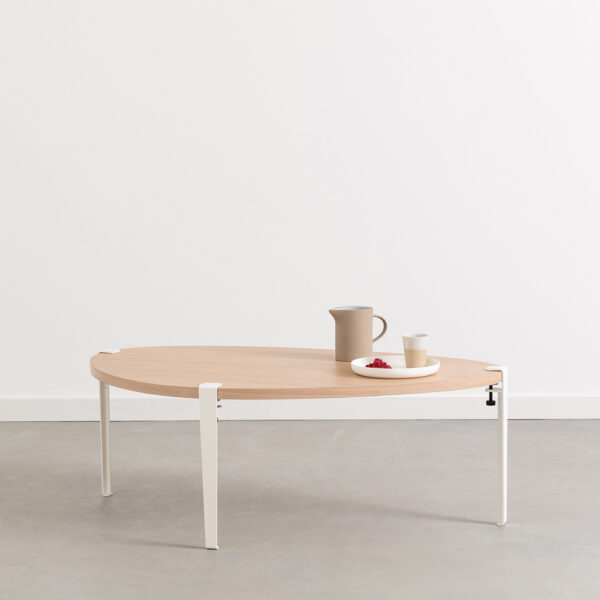 PEBBLE coffee table - eco-certified wood
