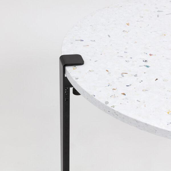 Table basse plastique recyclé VENEZIA