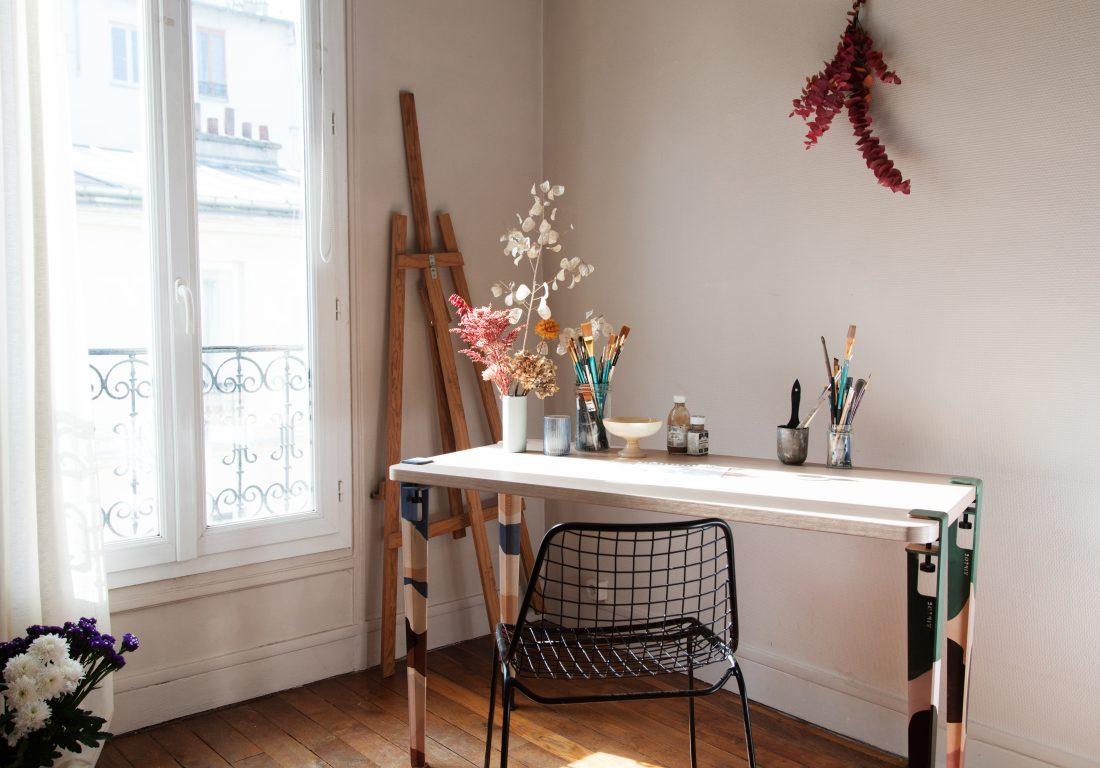 Rencontre et collaboration avec Diane, artiste peintre