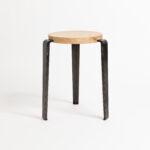LOU stool – solid wood