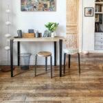 LOU stool - solid wood