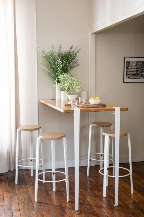 BIG LOU bar stool – solid wood