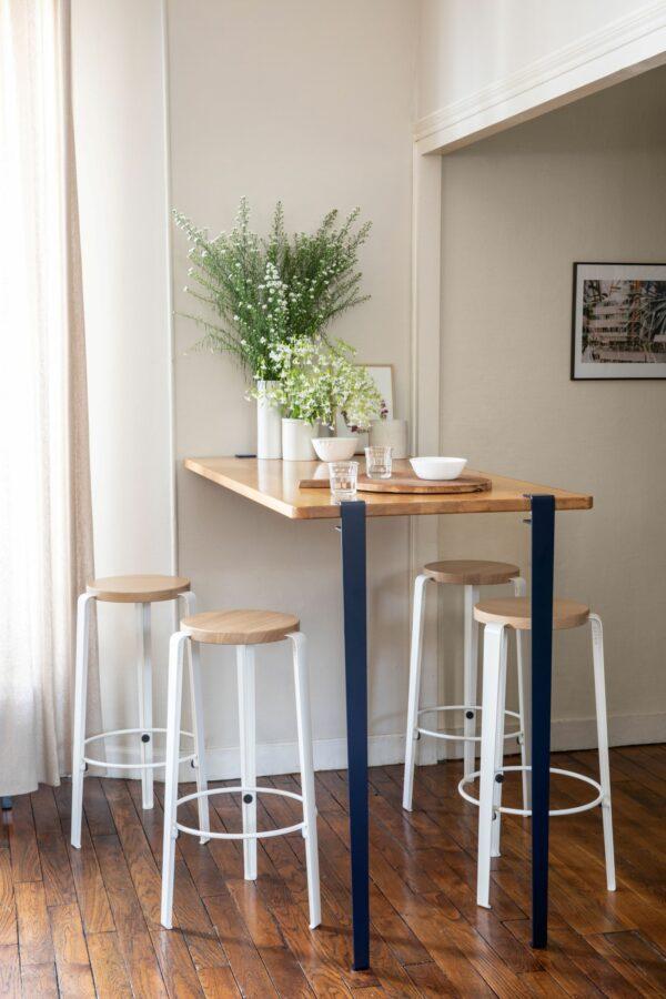 Pied de table bar - 110cm