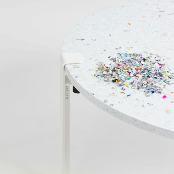 VENEZIA oblong recycled plastic coffee table