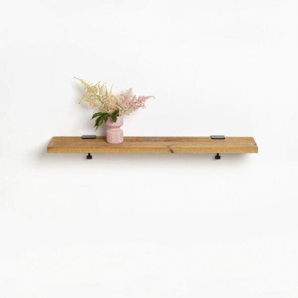Reclaimed wood shelf - 90x20cm
