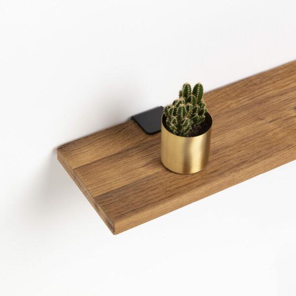 Reclaimed wood shelf - 120x20cm
