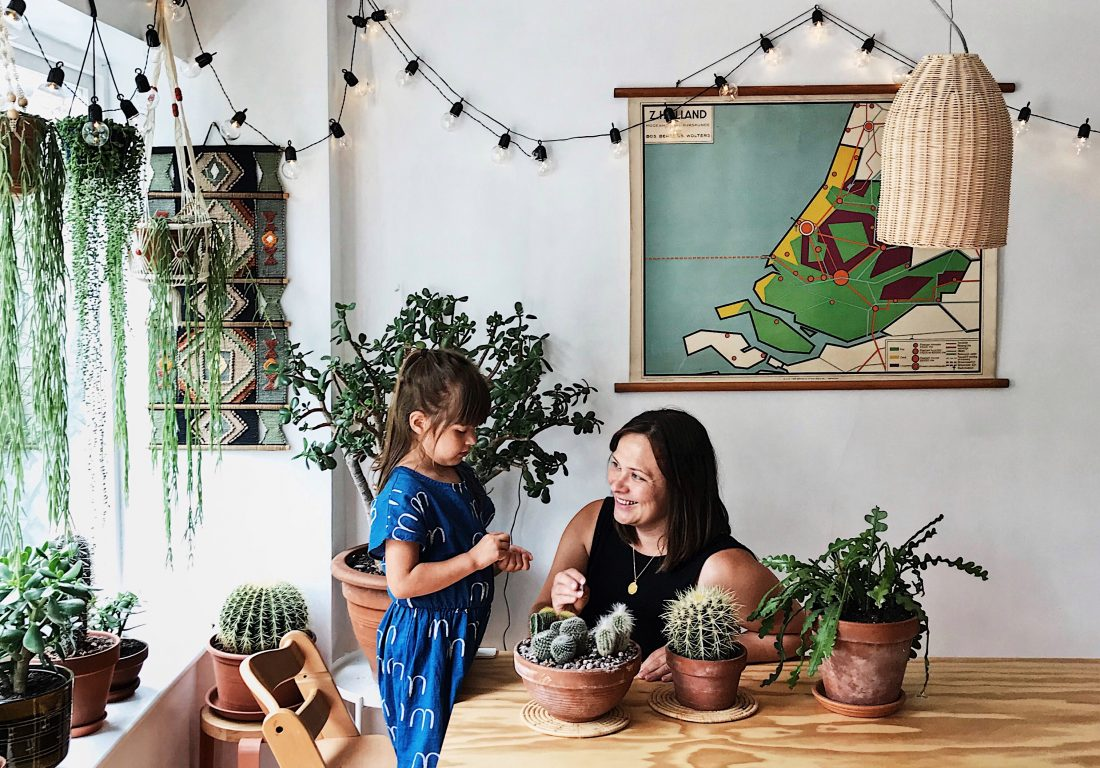 Vegetal vibes for Kate and her family