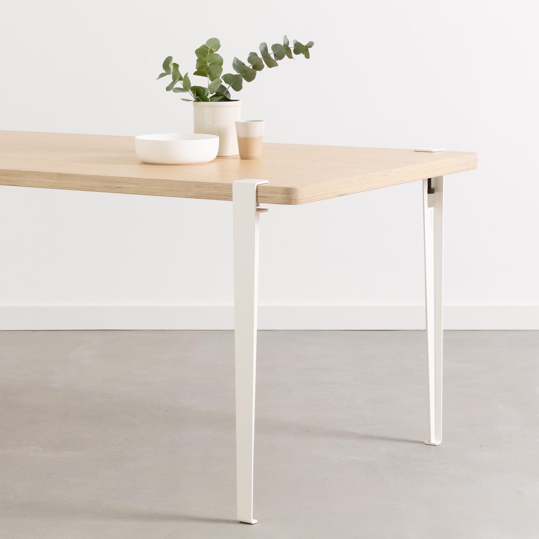 Photo d'une table TIPTOE blanche