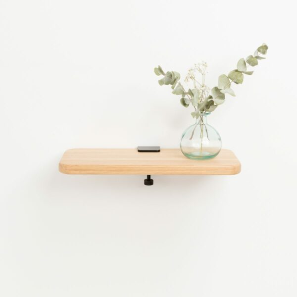 Solid oak shelf - 45x20cm