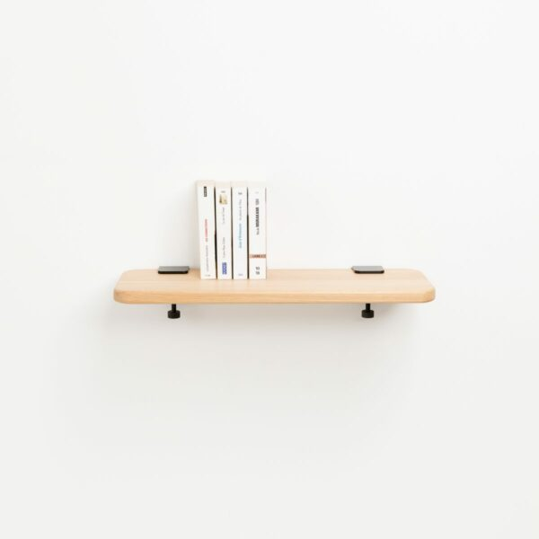 Solid oak shelf - 90x20cm