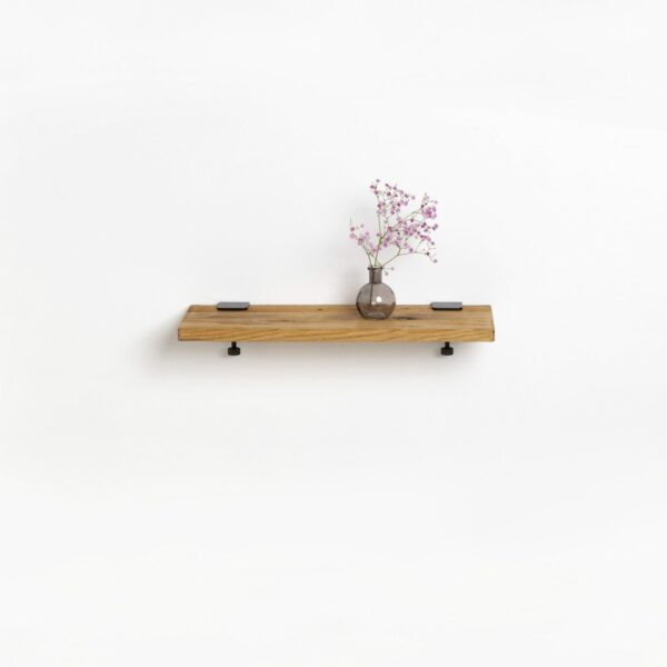 Reclaimed wood shelf - 60x20cm