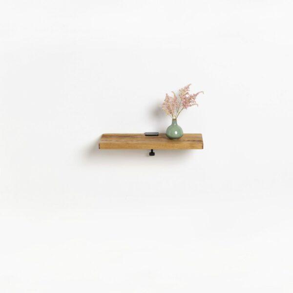 Reclaimed wood shelf - 45x20cm