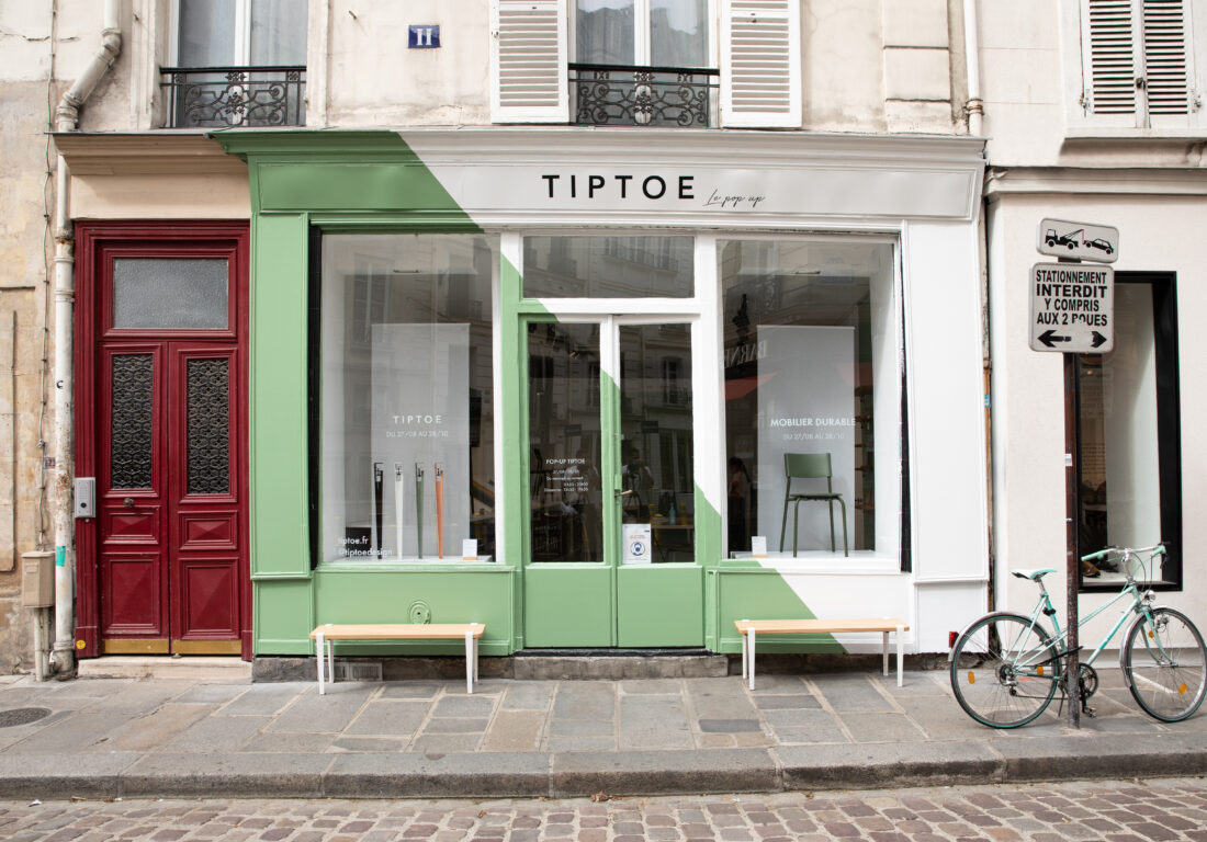 TIPTOE ouvre son premier pop-up store à Paris !