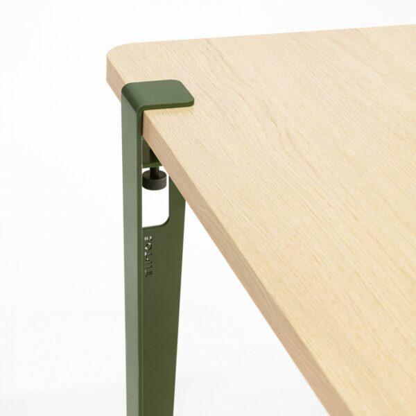 Pied de table Vert Eucalyptus - 75 cm