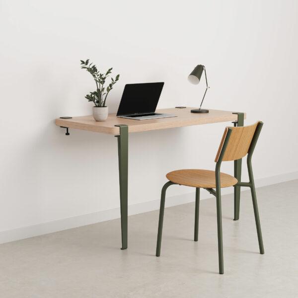 Wall desk - eco-certified wood
