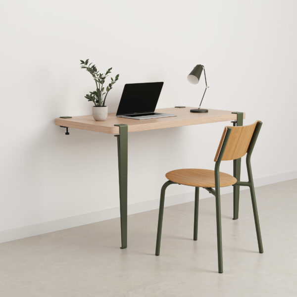 Wall desk - eco-certified wood