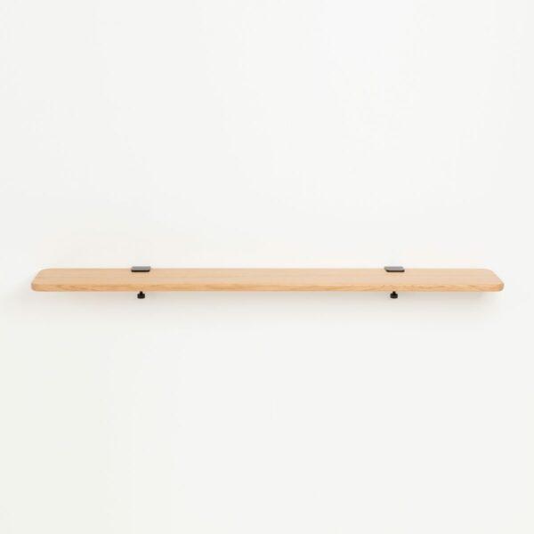 Solid oak shelf - 150x20cm