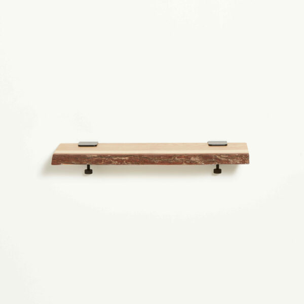 Live edge wood shelf - 60x20cm
