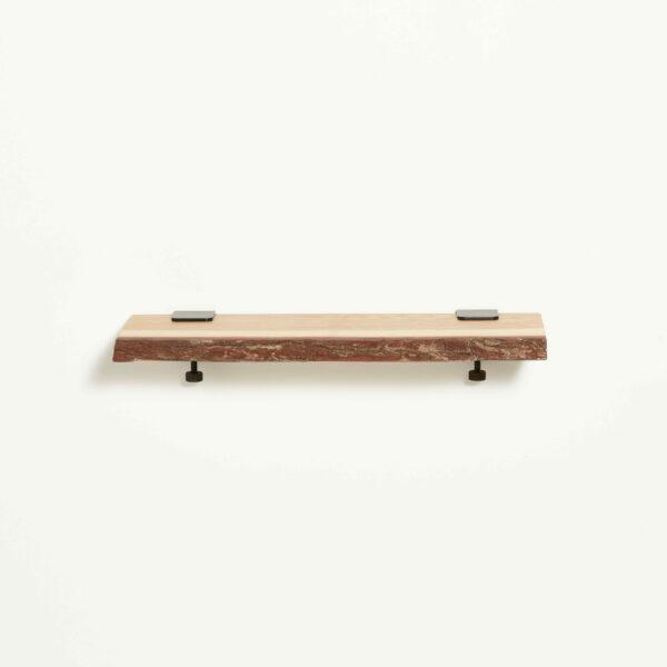 Live edge wood shelf - 60x20cm