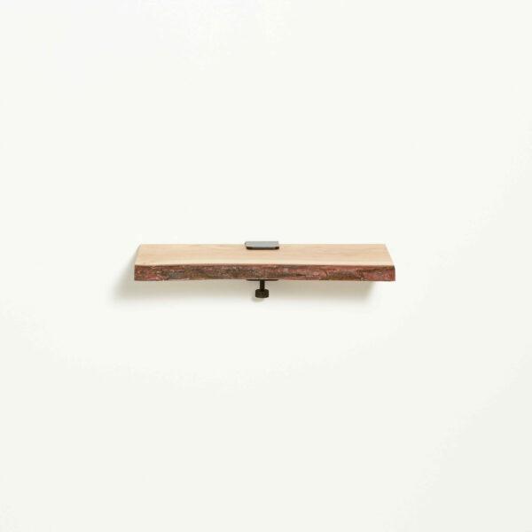 Live edge wood shelf - 45x20cm