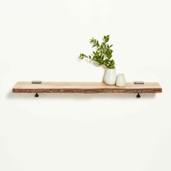 Live edge wood shelf - 90x20cm