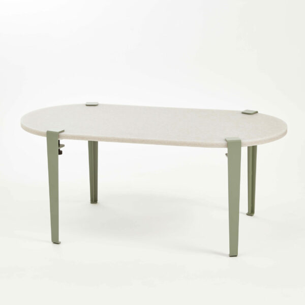 ROCA oblong recycled plastic coffee table