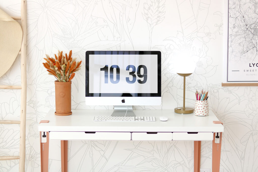 Home office: how to set up an office corner with TIPTOE?