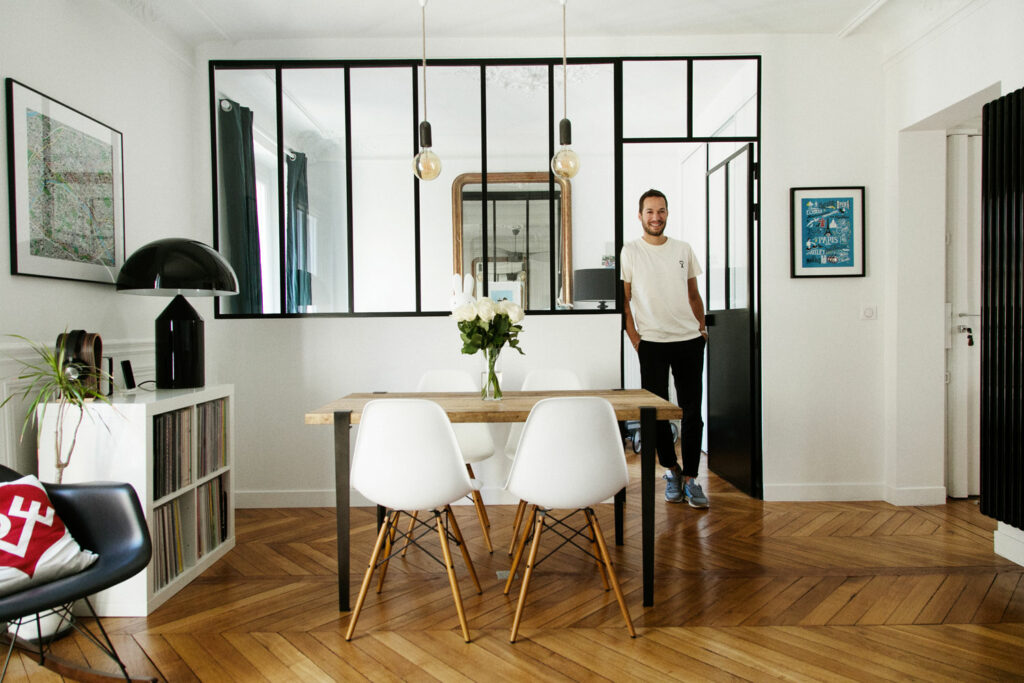 Charm and modernity for Aline and Fabien