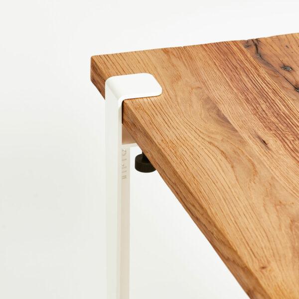 Unique coffee table top in reclaimed wood TIPTOE