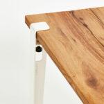 Plateau de table à manger unique en vieux bois TIPTOE
