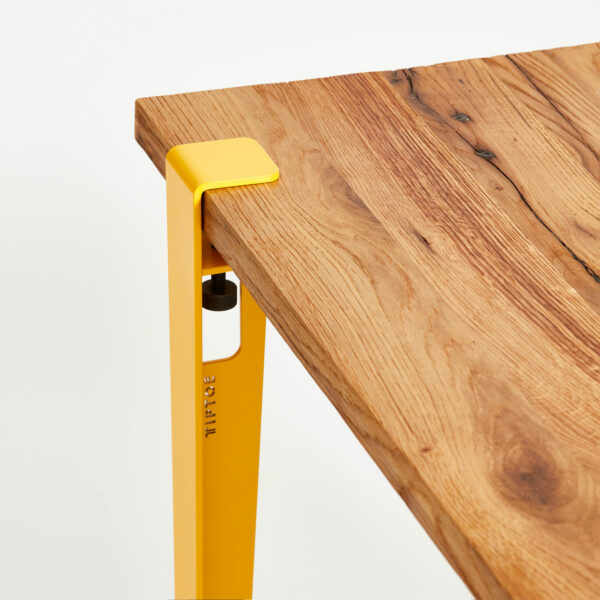 TIPTOE top for dining table in reclaimed wood
